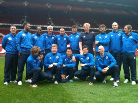 Soccer Aid Rest of the World Team